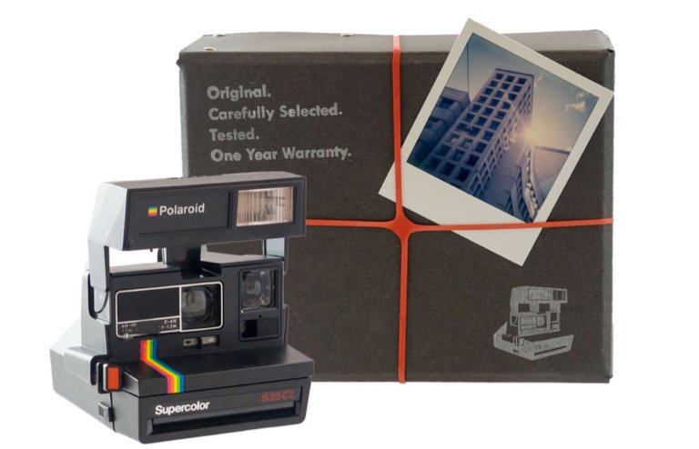 Polaroid Camera Package